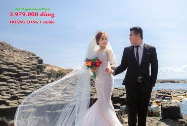 Album ngoại cảnh siêu rẻ 3979K - Ảnh cưới Phú Yên - Hoàng Long 1 studio - Hình 1