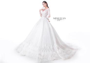 Thuê váy cưới - Dòng Royal - NTK MINH TUAN Nguyen - Hình 1