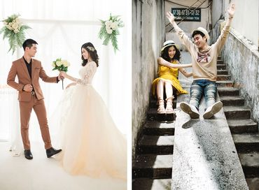 Một Thoáng Sài Gòn + Studio Hàn Quốc - Áo Cưới Lê Mẫn - Hình 6