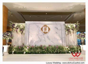 Gói trang trí tiệc cưới Luxury - 03 - Công Ty Công Nghệ Cưới - Hình 19
