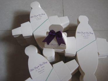 Hộp quà cưới tổng hợp - Bánh May Mắn - Hình 2