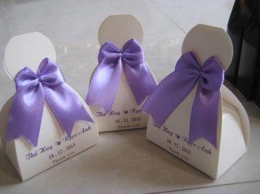 Hộp quà cưới tổng hợp - Bánh May Mắn - Hình 3