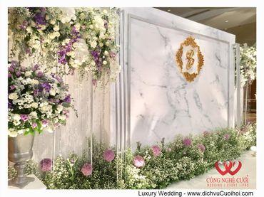 Gói trang trí tiệc cưới Luxury - 03 - Công Ty Công Nghệ Cưới - Hình 2