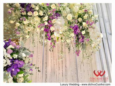 Gói trang trí tiệc cưới Luxury - 03 - Công Ty Công Nghệ Cưới - Hình 6