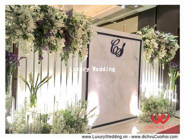 Gói trang trí tiệc cưới Luxury - 03 - Công Ty Công Nghệ Cưới - Hình 3