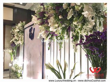 Gói trang trí tiệc cưới Luxury - 03 - Công Ty Công Nghệ Cưới - Hình 7