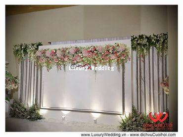 Gói trang trí tiệc cưới Luxury - 03 - Công Ty Công Nghệ Cưới - Hình 5