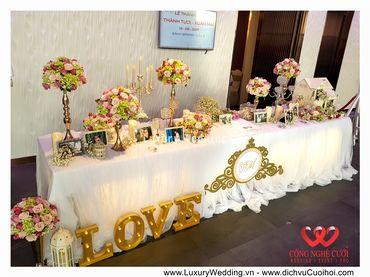 Gói trang trí tiệc cưới Luxury - 03 - Công Ty Công Nghệ Cưới - Hình 9