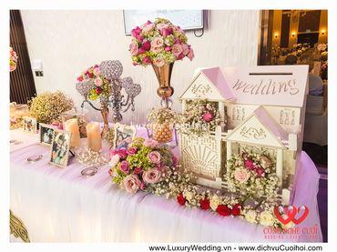 Gói trang trí tiệc cưới Luxury - 03 - Công Ty Công Nghệ Cưới - Hình 15
