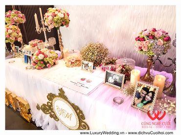 Gói trang trí tiệc cưới Luxury - 03 - Công Ty Công Nghệ Cưới - Hình 13