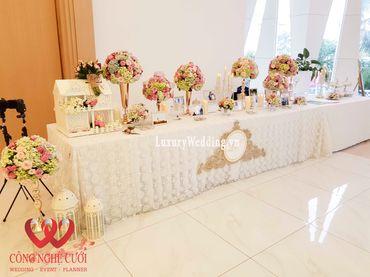 Gói trang trí tiệc cưới Luxury - 03 - Công Ty Công Nghệ Cưới - Hình 12