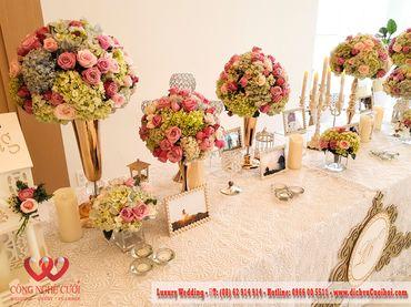 Gói trang trí tiệc cưới Luxury - 03 - Công Ty Công Nghệ Cưới - Hình 11