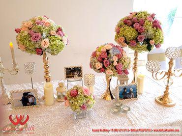 Gói trang trí tiệc cưới Luxury - 03 - Công Ty Công Nghệ Cưới - Hình 14