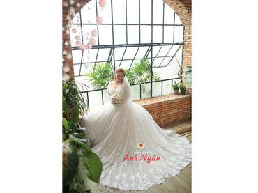 Áo cưới trắng - Áo cưới bigsize - Ánh Ngân - Hình 1