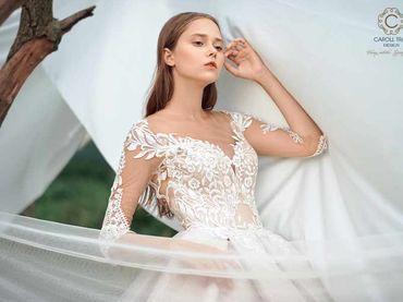 Cho thuê váy cưới dòng hàng xa xỉ couture WA71003S06 - Caroll Trần Design - Hình 2
