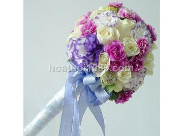 Hoa cầm tay cô dâu - Hoa Tươi 1080 ( 1080 Flowers ) - Hình 3