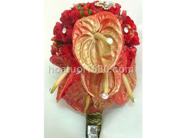 Hoa cầm tay cô dâu - Hoa Tươi 1080 ( 1080 Flowers ) - Hình 2