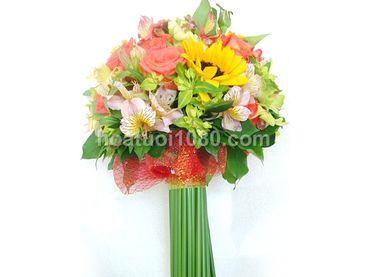 Hoa cầm tay cô dâu - Hoa Tươi 1080 ( 1080 Flowers ) - Hình 1