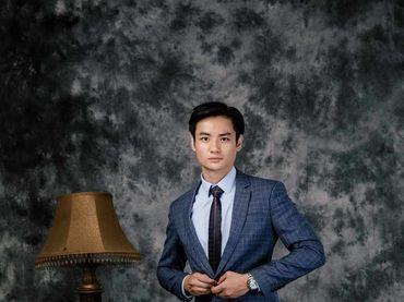 Bộ Vest D&T Italia Cao Cấp 70% Wool - MON AMIE: Veston - Suit - Tuxedo - Hình 8