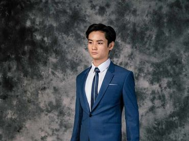 Bộ Vest D&T Italia Cao Cấp 70% Wool - MON AMIE: Veston - Suit - Tuxedo - Hình 10