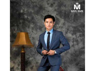 Bộ Vest D&T Italia Cao Cấp 70% Wool - MON AMIE: Veston - Suit - Tuxedo - Hình 11