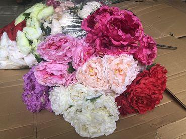 Hoa vải cao cấp - Midori Shop - Phụ kiện trang trí ngành cưới - Hình 125