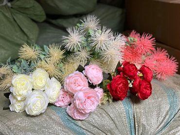 Hoa vải cao cấp - Midori Shop - Phụ kiện trang trí ngành cưới - Hình 139