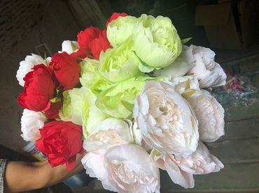 Hoa vải cao cấp - Midori Shop - Phụ kiện trang trí ngành cưới - Hình 117