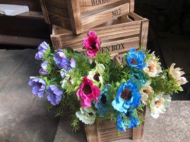 Hoa vải cao cấp - Midori Shop - Phụ kiện trang trí ngành cưới - Hình 126