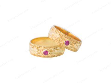 Nhẫn cưới Rồng Phụng - Nhẫn Cưới Kim Ngọc Thủy - Hình 3