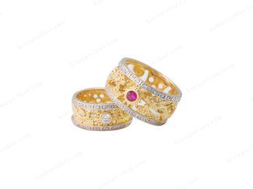 Nhẫn cưới Rồng Phụng - Nhẫn Cưới Kim Ngọc Thủy - Hình 6