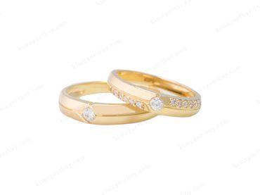 Nhẫn cưới tinh tế - Nhẫn Cưới Kim Ngọc Thủy - Hình 4