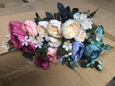 Hoa vải cao cấp - Midori Shop - Phụ kiện trang trí ngành cưới - Hình 144