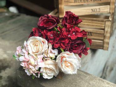Hoa vải cao cấp - Midori Shop - Phụ kiện trang trí ngành cưới - Hình 121