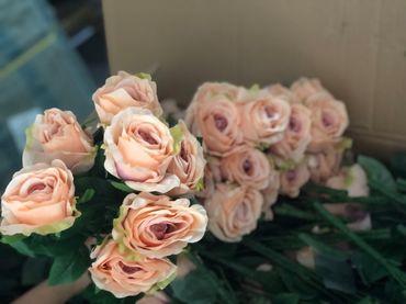 Hoa vải cao cấp - Midori Shop - Phụ kiện trang trí ngành cưới - Hình 153