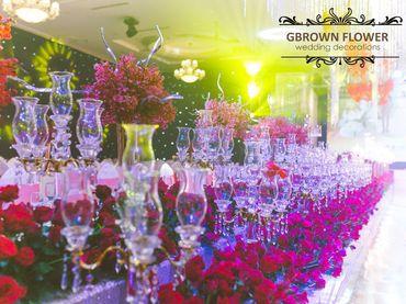 Gói trang trí cưới PASSIONATE LOVE - GBrown Flower - Hình 4