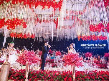 Gói trang trí cưới PASSIONATE LOVE - GBrown Flower - Hình 3