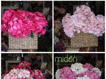 Hoa vải cao cấp - Midori Shop - Phụ kiện trang trí ngành cưới - Hình 4