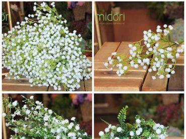 Hoa vải cao cấp - Midori Shop - Phụ kiện trang trí ngành cưới - Hình 15