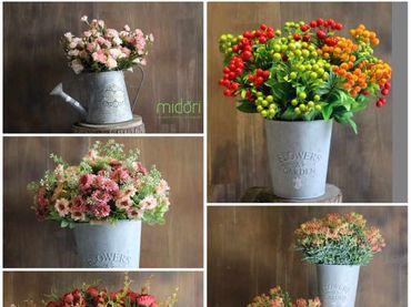 Hoa vải cao cấp - Midori Shop - Phụ kiện trang trí ngành cưới - Hình 18