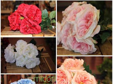 Hoa vải cao cấp - Midori Shop - Phụ kiện trang trí ngành cưới - Hình 2