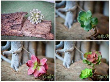 Hoa vải cao cấp - Midori Shop - Phụ kiện trang trí ngành cưới - Hình 21