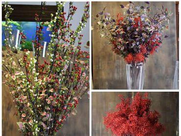 Hoa vải cao cấp - Midori Shop - Phụ kiện trang trí ngành cưới - Hình 24
