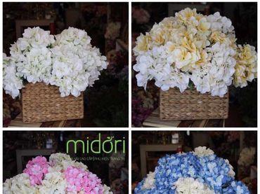 Hoa vải cao cấp - Midori Shop - Phụ kiện trang trí ngành cưới - Hình 25