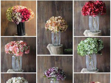 Hoa vải cao cấp - Midori Shop - Phụ kiện trang trí ngành cưới - Hình 3