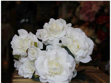 Hoa vải cao cấp - Midori Shop - Phụ kiện trang trí ngành cưới - Hình 5