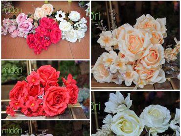 Hoa vải cao cấp - Midori Shop - Phụ kiện trang trí ngành cưới - Hình 12