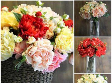 Hoa vải cao cấp - Midori Shop - Phụ kiện trang trí ngành cưới - Hình 8