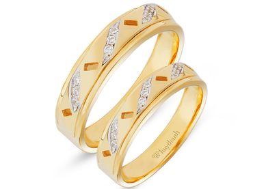 Nhẫn cưới Les Etoiles NC 245A - Huy Thanh Jewelry - Hình 3
