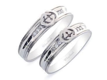 Nhẫn cưới Les Estoile NC 263 - Huy Thanh Jewelry - Hình 3